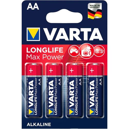 AA Varta LongLife Max Power - Alkaline
